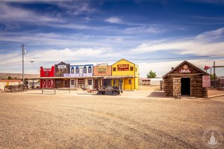 """""""Old Town"""" Seligman an der Route 66"""