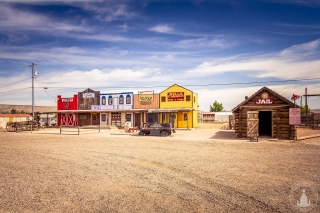 """Old Town"" Seligman an der Route 66"