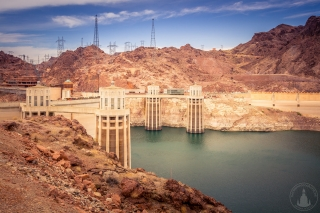 Hoover Dam in Nevada & Arizona