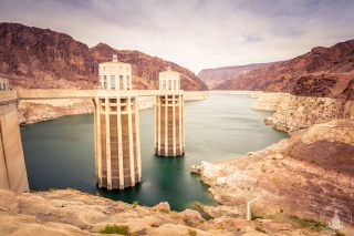 Hoover Dam am Colorado River